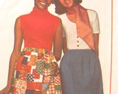 Simplicity 8632 1960s Easy Learn to Sew Vintage Skirt Sewing Pattern