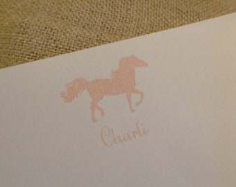 Custom Stationery Personalized Stationary - Horse