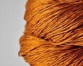 Passing leaf storm - Silk Fingering Yarn - Knotty skein