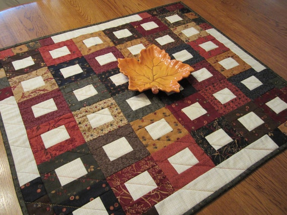 Country Chic Table Runner or  Mini Quilt