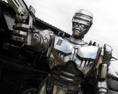 Robot Cop ( Large item ) : made-to-order
