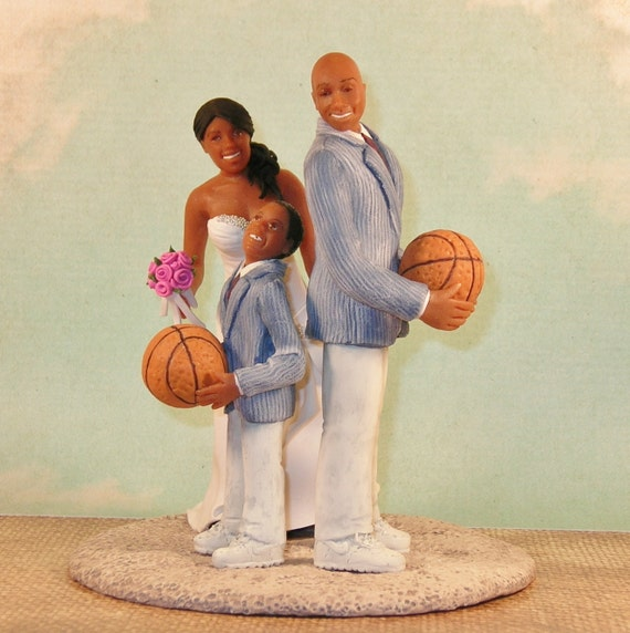 basketball wedding cake toppers items similar to custom basketball wedding cake 11106