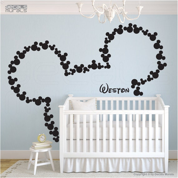 301 moved permanently mickey amp minnie wallsticker familien 150x55cm