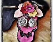 dia de los muertos catrina pink