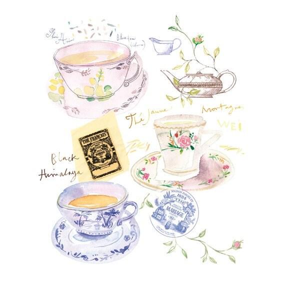 how to make blue tea