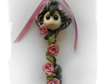 Art Doll Art, Polymer Clay Figurine, Sculpture