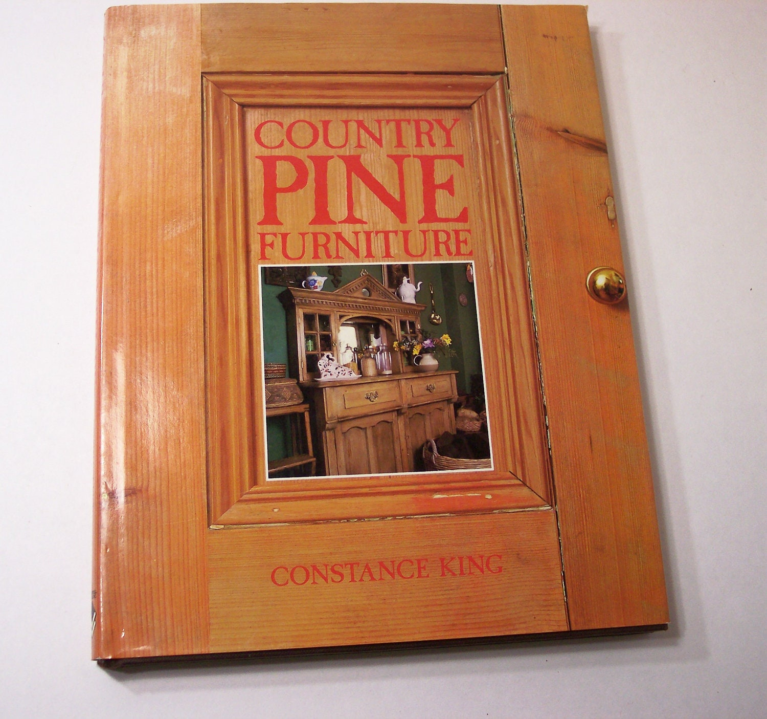 Country Pine Furniture Book Historical Overview Vintage