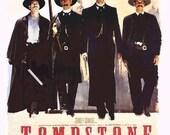 Magnet- Tombstone movie poster Kurt Russell Val Kilmer