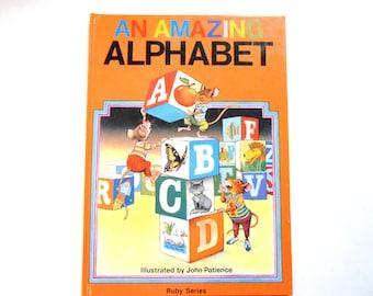 An Amazing Alphabet, a Vintage Children's ABC Book