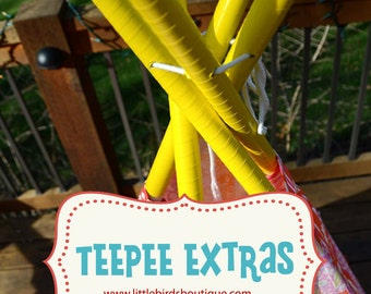 Teepee ACCESSORIES EXTRAS