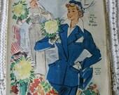 RESERVED ITEM French Vintage 1950's Fashion Magazine - Le Petit Echo de la Mode 'Spring Fashion Special'