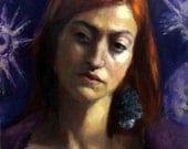 Original Oil Portrait Painting