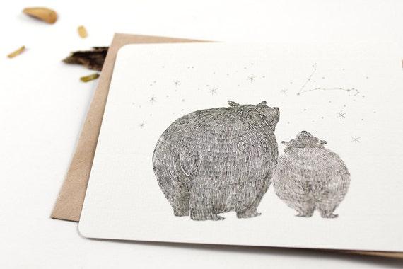 10 Notecards - Starry Night