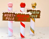 Christmas Candy Tube Party Favors