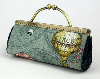 SALE Clutch Hot Air Balloon