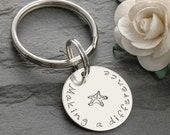 Making a Difference - Starfish key chain - Mom, Teacher, Therapist, Doctor, Nurse, OT
