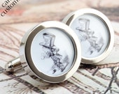 The Mad Hatter Cufflinks from Alice in Wonderland PC585