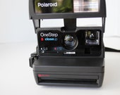 Vintage Polaroid Onestep One Step Close Up Instant Camera Tested