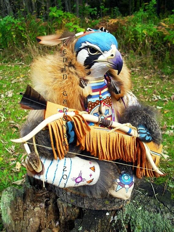 Kestrel Manitou (Sparrow Hawk Totem)
