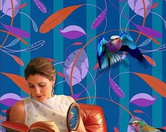 Wallpaper in Featherleaf Pattern 5 colorways