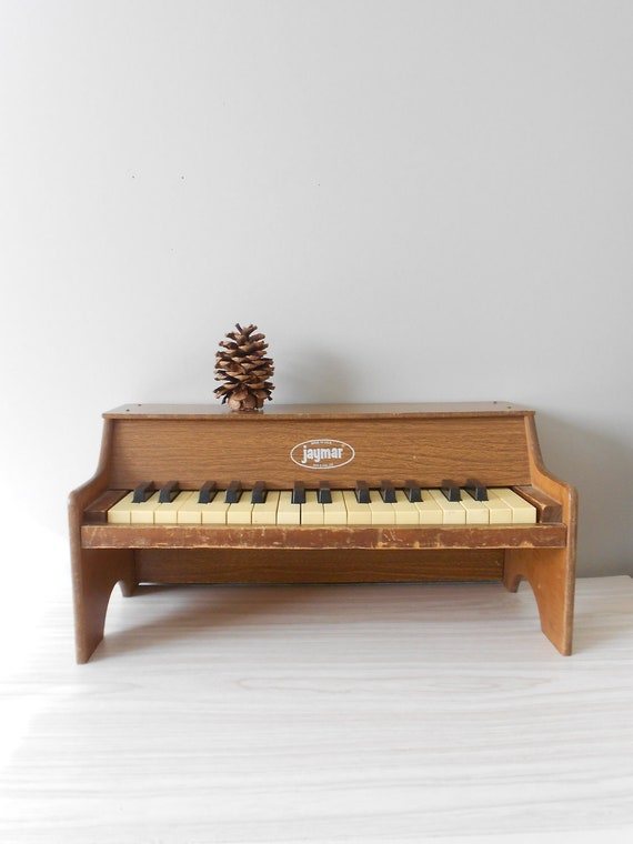 1980s Children S Vintage Wooden Jaymar Playing Piano By