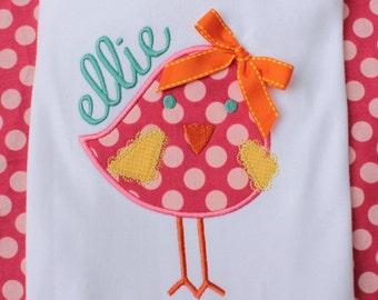 Tweety Bird Applique Machine Embroidery Design
