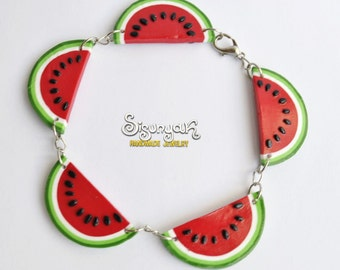 Watermelon Bracelet - Gifts for her