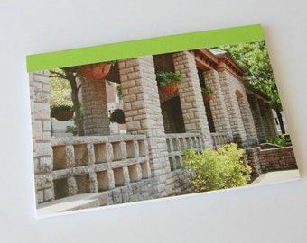 Notebook/Sketchbook/Journal - 4x6 - Garden Terrace - Original Photograph
