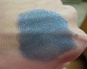 TITAN Dark Gray Grey Blue Mineral Eyeshadow Shimmer Vegan Natural
