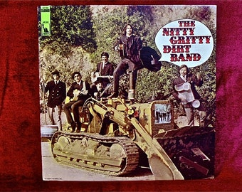 The NITTY GRITTY DIRT BANd - The Nitty Gritty Dirt Band - 1967 Vintage Vinyl Record Album...1st Pressing