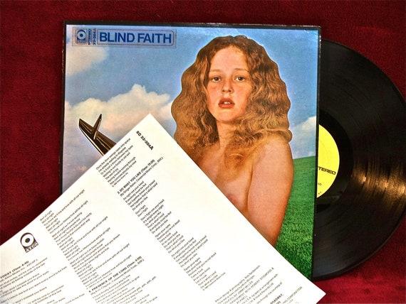 Rare Blind Faith Blind Faith 1969 Vintage Vinyl Record