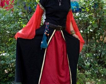 Medieval linen dress