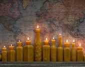 Beeswax Candle Collection - Lucky Number 13