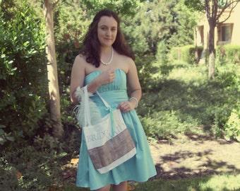 Bridal Totes, Rustic, Shabby Chic, Customizable, Bridal Bags, Bridesmaid Bags, Wedding Gifts, Wedding Decorations.