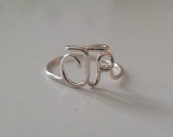 "Original  ""CTR"" Ring 925 Sterling Silver"