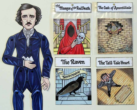 an analysis of tell tale heart and the cask of amontillado by edgar allan poe