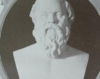 Socrates - Sepia print - 1911