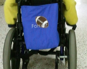 Wheelchair Tote Bag Personalized with Applique, Custom