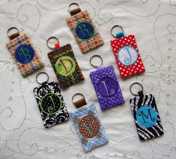 Keychain card holder id business card credit for Keychain business cards