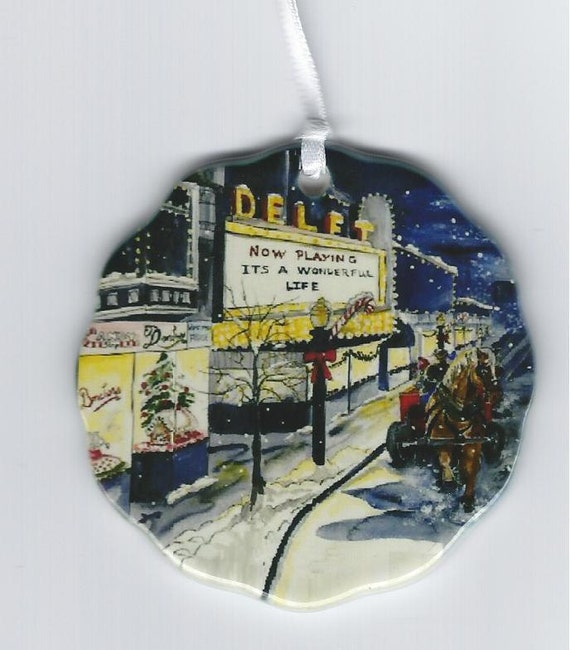 It 39 S A Wonderful Life Donckers And The Delft Ornament