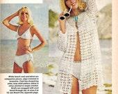 Vintage McCalls Crochet Magazine with Patterns