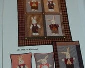 Country Appliques Old Rabbits pattern by Jan Kornfeind quilt pattern