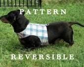 Dog harness pattern sewing leash instructions included pets clothing handmade DIY