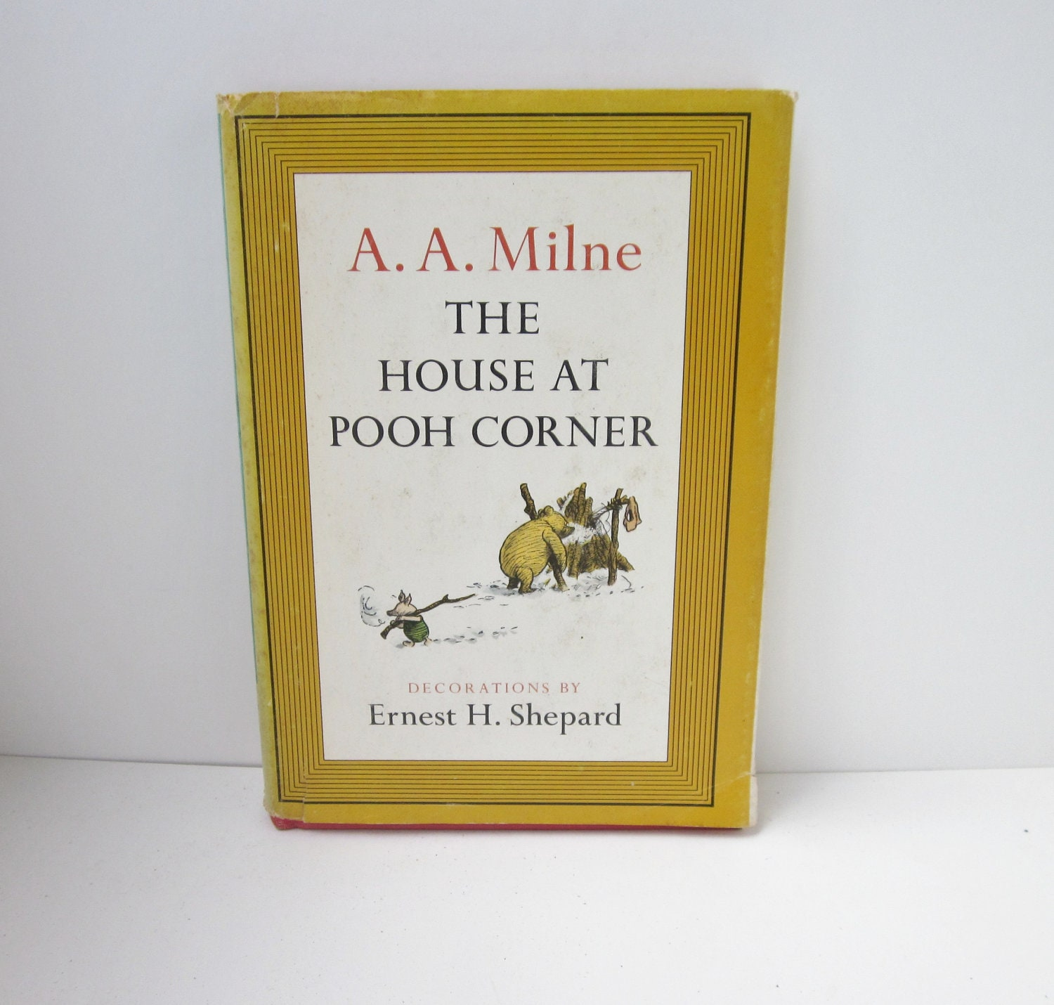vintage 1961 the house at pooh corner by a a milne