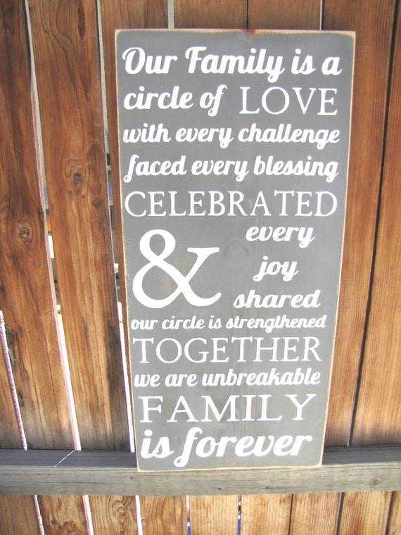 Circle of Love Sign