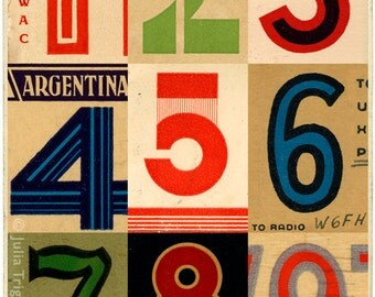 Signals: Argentina, limited edition print 420 x 594mm
