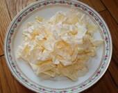 Shabby vintage wrinkle ribbon - Lemon Tart