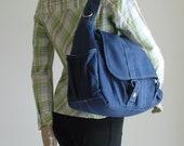 Pico2 in Navy Blue (Water Resistant) Purse / Laptop / Shopping Bag / Shoulder Bag / Messenger Bag / Handbag / Travel / Wallet / Diaper Bag