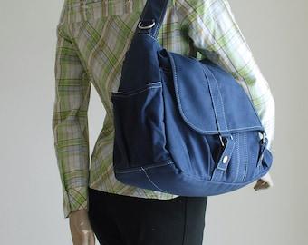 On Sale Pico2 Navy Blue / Purse / Laptop / Shopping Bag / Shoulder Bag / Messenger Bag / Handbag / Travel / Wallet / Diaper Bag