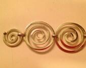Bracciale spirale argento